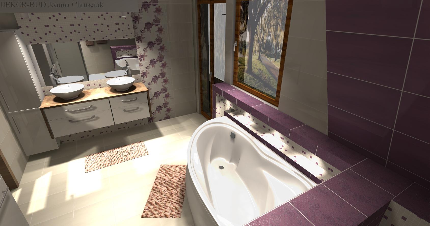 Łazienka w fiolecie -> Kuchnie We Fiolecie